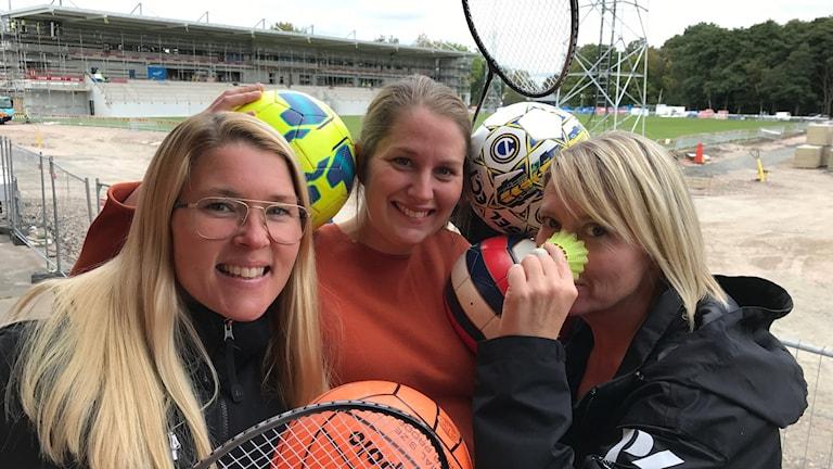 Radiosportens Malin Rimfors gästar Förmiddagens duo Jenny Sandgren och Johnsson Roos för sportsnack varje torsdag.