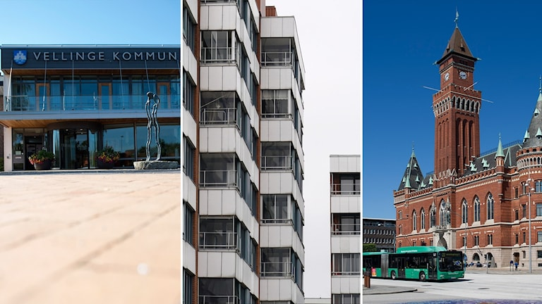 Vellinge, bostadshus, Helsingborgs rådhus
