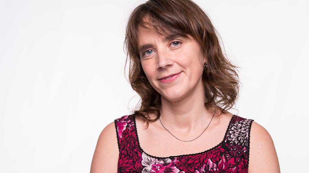 Ulrika Sandén som också skrivit en bok om att vara cancersjuk.