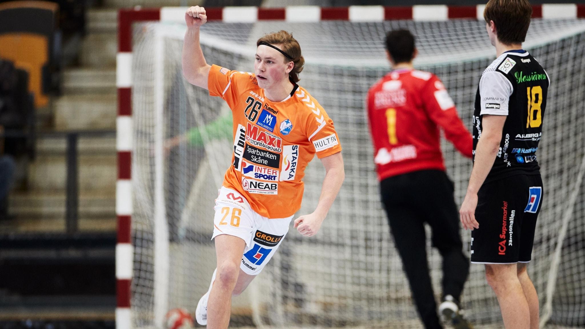 Valter Chrintz första 00:an i handbollslandslaget P4