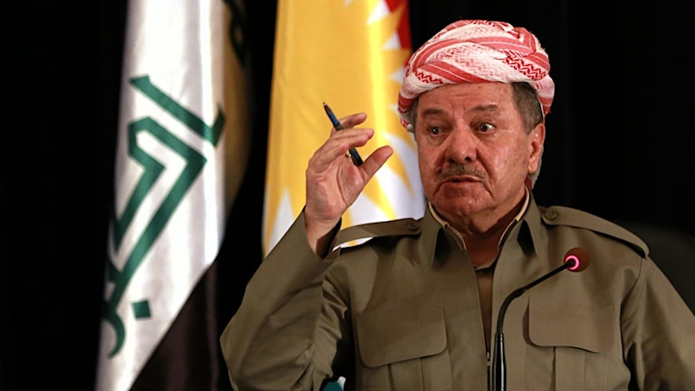 Massoud Barzani - president i Kurdistan