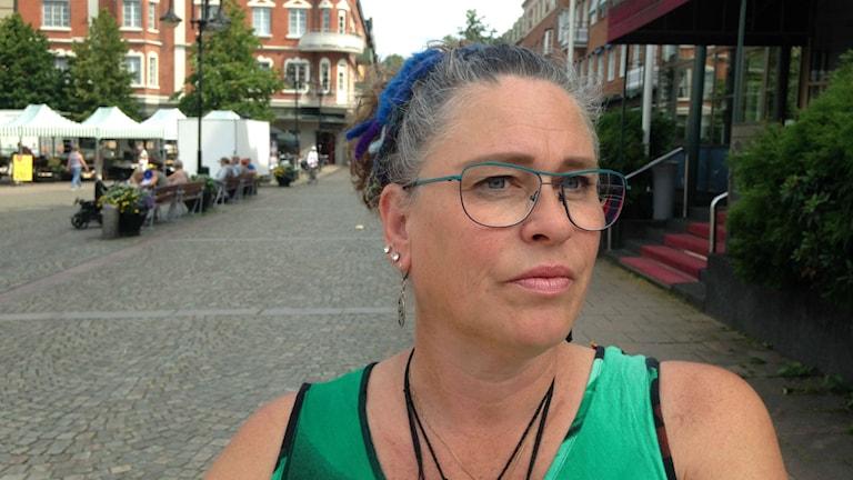 """""""Istället för att bråka kan man samarbeta."""", säger Ingela Tillgren, som bor i Hässleholm."""