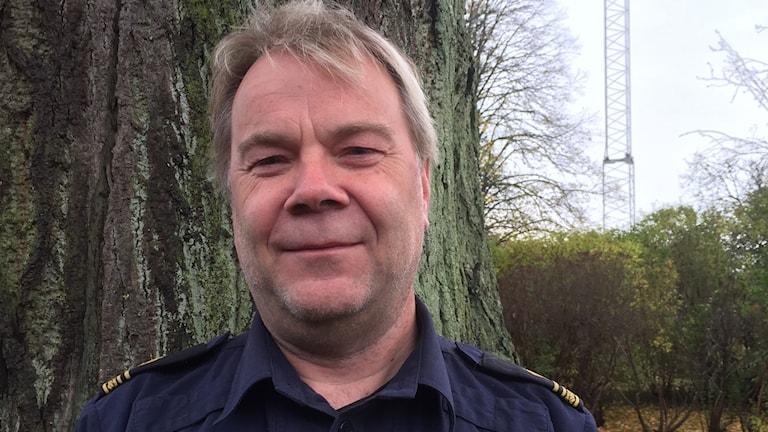 Rolf Paimensalo, kommunpolis i Östra Göinge