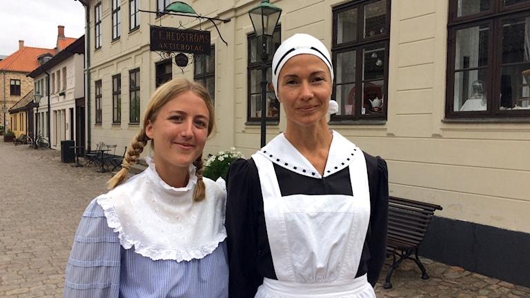Maja Kihlberg och Sara Ekman