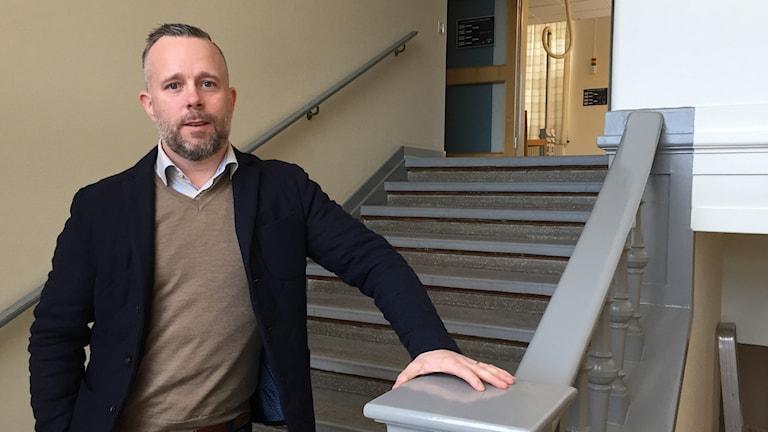 Daniel Eklund, centrumchef C4 Shopping