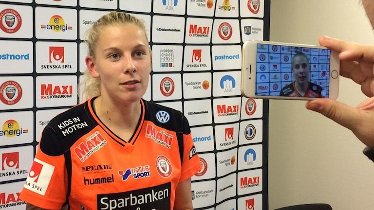 Tine Schryvers, belgiskt fotbollsproffs i Kristianstad DFF.
