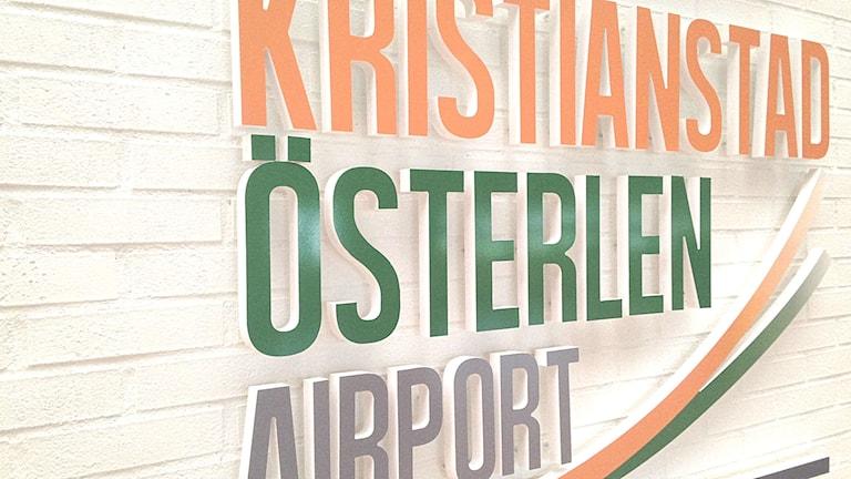 Kristianstad Österlen Airport.