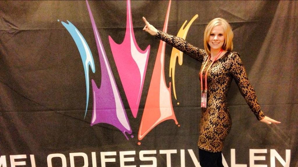 Kvinna Melodifestivalen