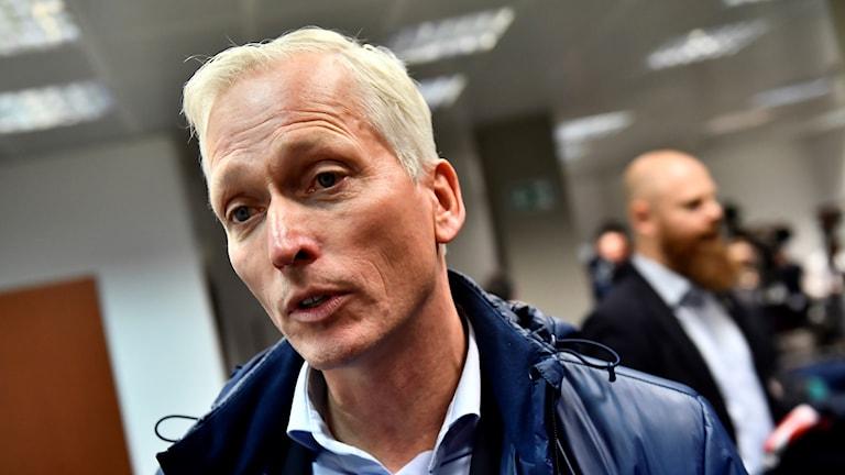 Håkan Sjöstrand - generalsekreterare i Svenska Fotbollförbundet