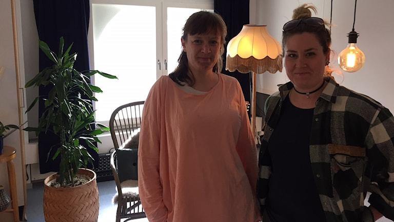 Anna Nilsson och Veronica Lundblad Jönsson