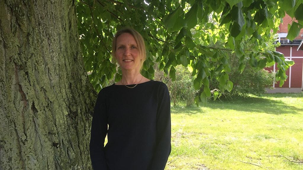 Jenny Edvardsson är svensklärare på Wendesgymnasiet.