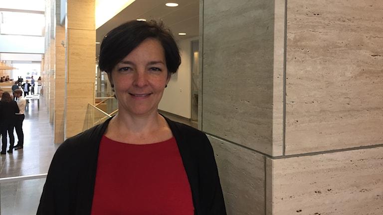 Dolores Öhman, miljöpartist och regionråd med ansvar för bland annat E-hälsa.