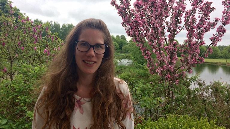 Ida Persson är mäklare i Tomelilla kommun.