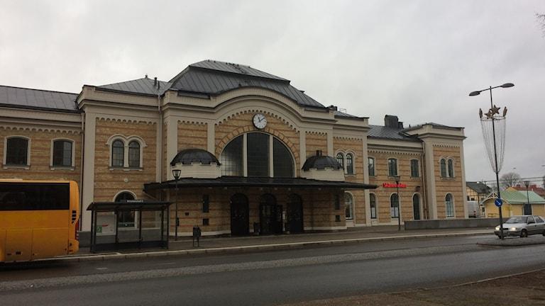 Centralstationen i Kristianstad.