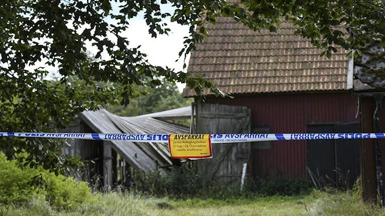 Man anhållen misstänkt för mord i Hörbytrakten.