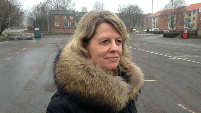 Stina Trimark är projektledare på fastighetsbolaget Backahill.