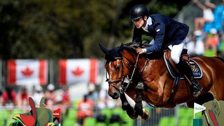 Peder Fredricson och All In vid OS i Rio.