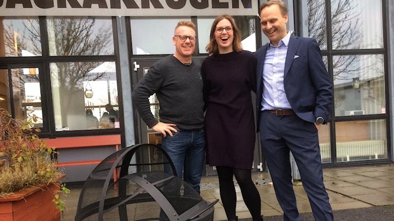 Ulrik Lindelöv, Sofie Broomé och Björn Lindell
