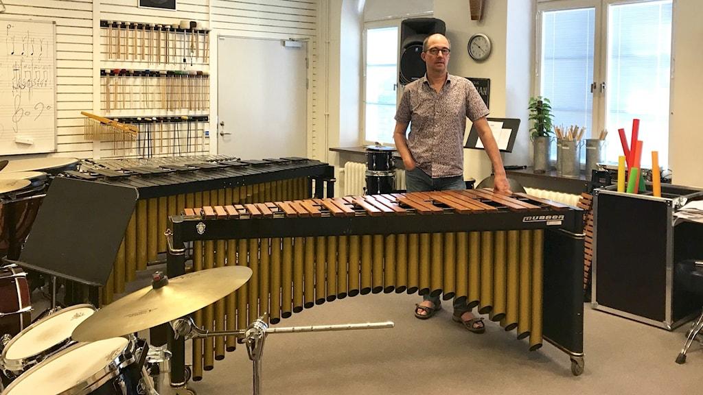 Per Tholin, enhetschef på kulturskolan i Ängelholm.