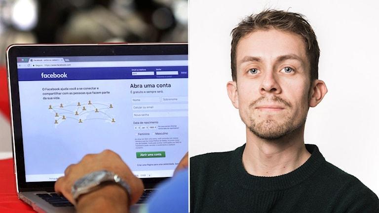 Vår reporter Karl Eckhardt begärde ut en kopia över sin användarhistorik på Facebook.