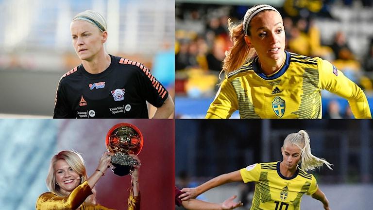 3 svenskor nominerade till prestigefyllda priset