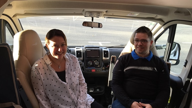 Annika och Daniel Majak lever nu sin dröm i husbil.