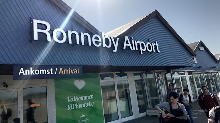 Ronneby Flygplats Kallinge