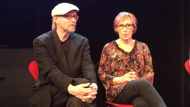 Christian Tomner och Eva Rydberg
