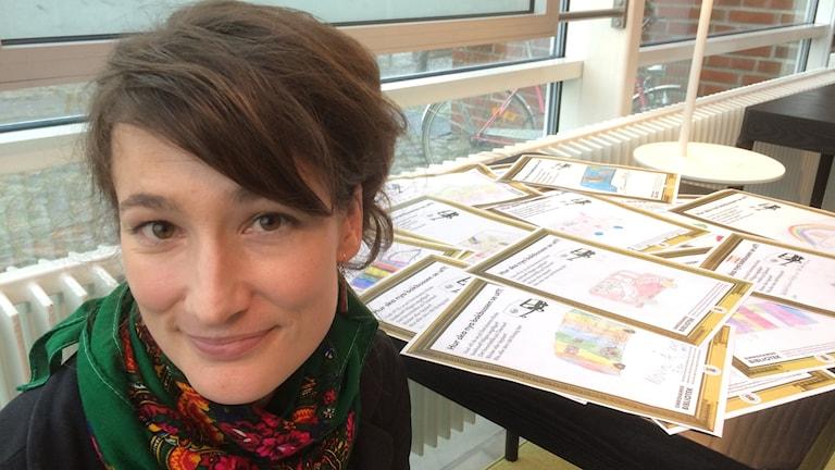 Kate Visonj, projektledare Simrishamns bibliotek.