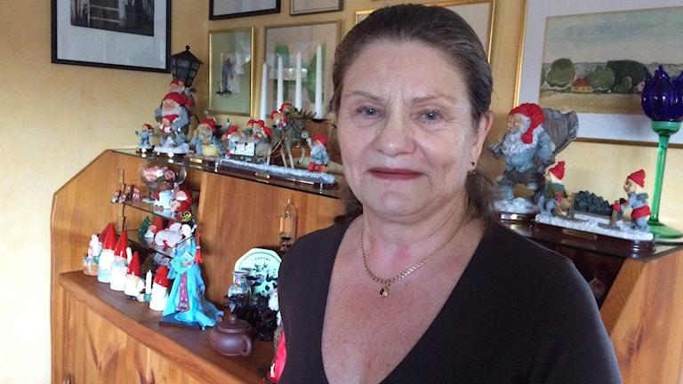 Anita Allberg vill ha en möteslokal för seniorer i Simrishamn.