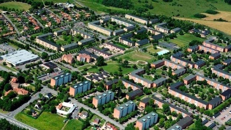 bostadsområde