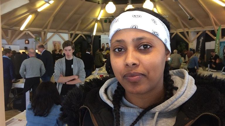 Eden Ghide på ungdomsmässan i Knislinge