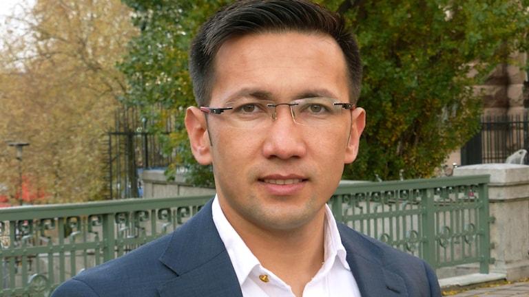 Omid Mahmoudi flydde från Kabul i Afghanistan till Sverige.