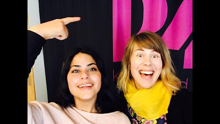 Karin Bengtsson och Lina Taha