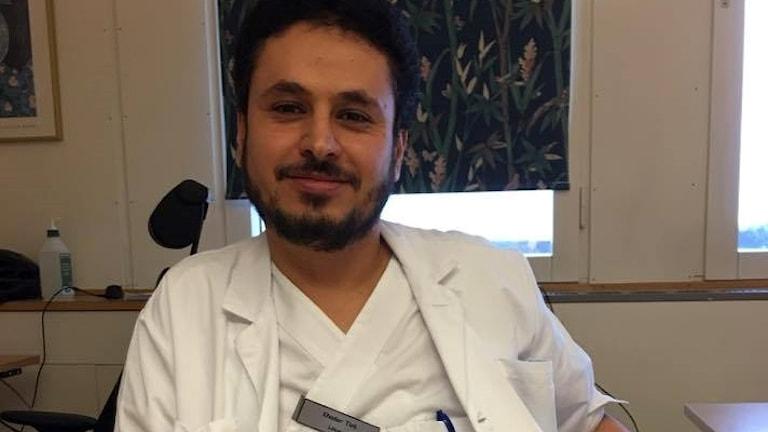 Palestinsk läkare i Kristianstad