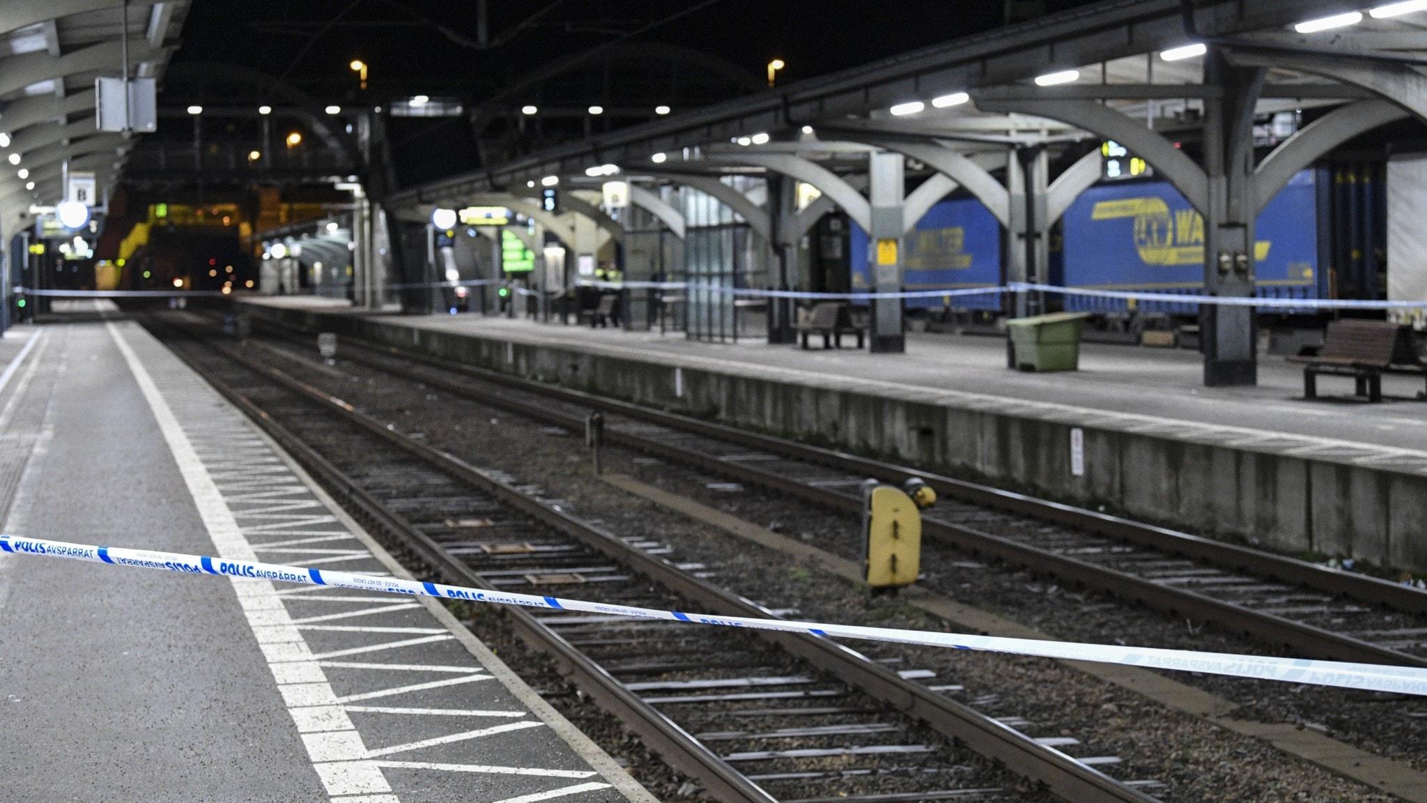 Ankommande tåg lund