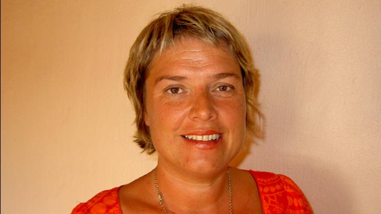 Birte Sandberg, gruppledare för centerpartiet i Region Skåne.
