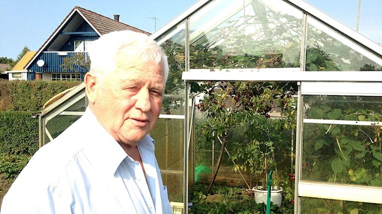 Karl Molnar, 79, i Näsum.