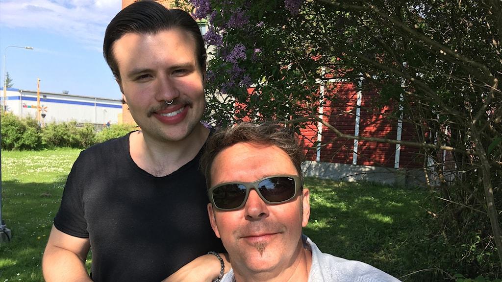 Henning Hallqvist och Patrik Dahlbom
