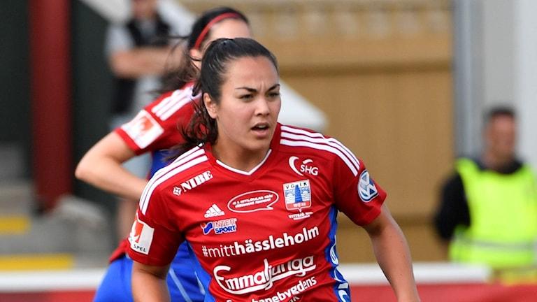 Vittsjös Michelle De Jongh Foto: Johan Nilsson/TT