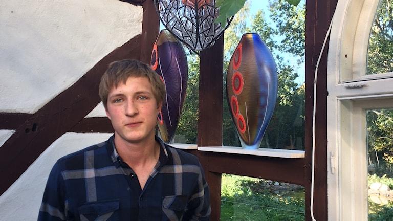 Martin Erenswärd är lärling under Mästarna bakom glaset