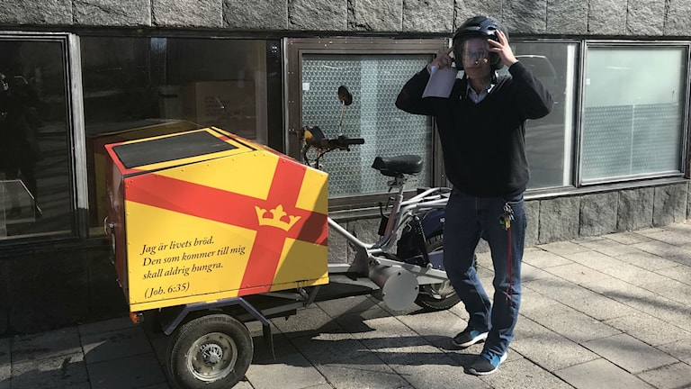 Sammie och mopeden