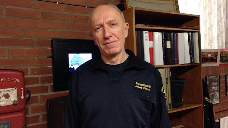 Anders Pålsson, brandingenjör på räddningstjänsten i Kristianstad.