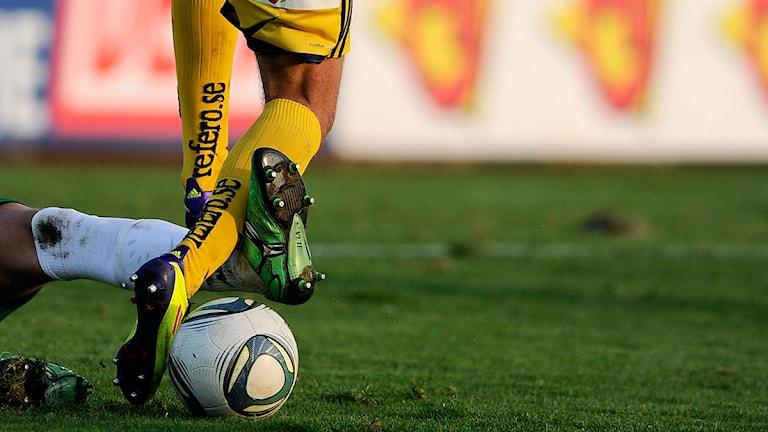 Fotboll. Foto:  Björn Lindgren/Scanpix