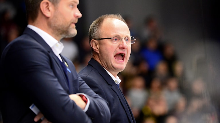 Rögles tränare Anders Eldebrink