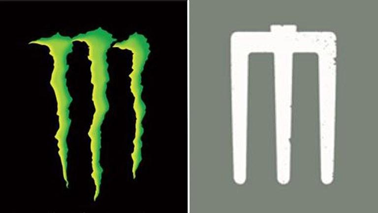 Två logotyper