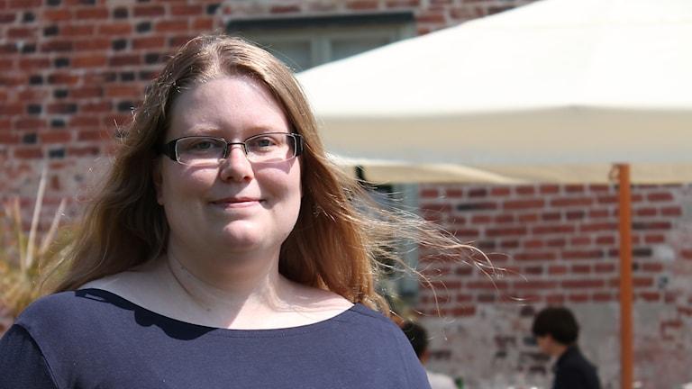 Ulrika Forsberg är doktor i kärnfysik och deltar i nobelsymposiet på Bäckaskog slott.