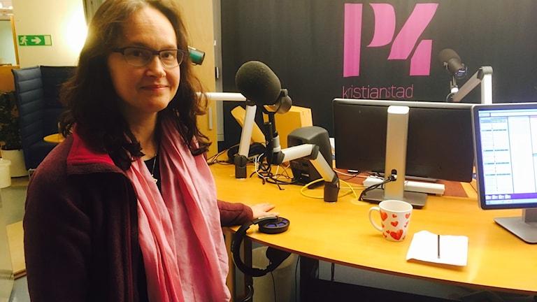 Pernilla Garmy forskar om barns sömnvanor.