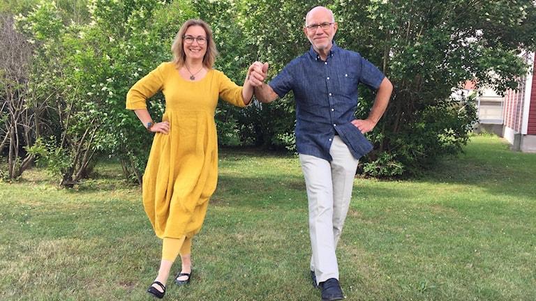 Anette Johansson och Kaj Nilsson