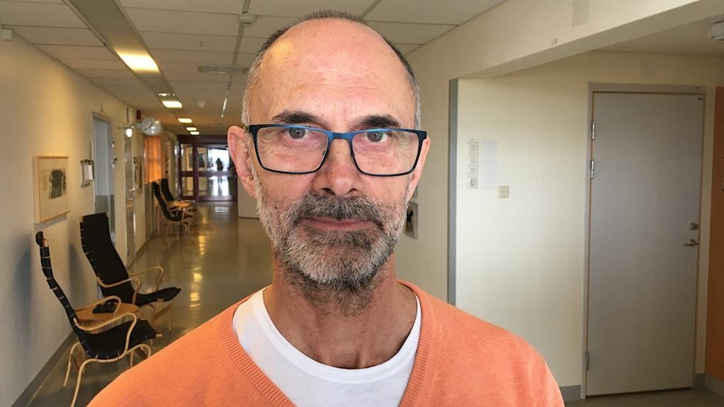 Sergio Padoan, chefläkare på Centralsjukhuset i Kristianstad